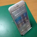 iPhone6ガラス割れ交換修理