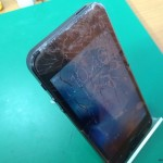 iPhone5画面割れ修理