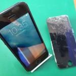 iPhone5画面交換
