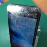 アイフォン5ガラス割れ修理