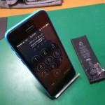 iPhone5cバッテリー交換後画像