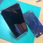 iPhone6ガラス割れ交換後画像1
