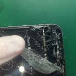 iPhone6ガラスめくれ修理