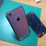 iPhone6ガラス割れ交換修理画像背面