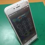 iPhone液晶不良修理前画像