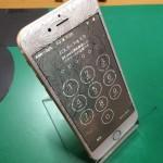 iPhone6ガラス割れ画像