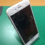 iPhone6ガラス割れ修理画像