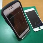 iPhone6ガラス交換修理画像