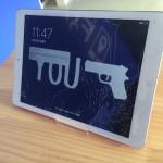 iPad Airガラス割れ修理