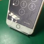 iPhone6Plusガラス割れ2