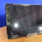 iPad Air2ガラス割れ画像