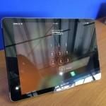 iPad Air2ガラス割れ修理後画像