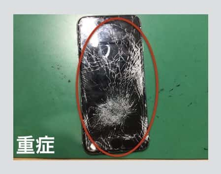 iPhone6画面割れ参考画像1