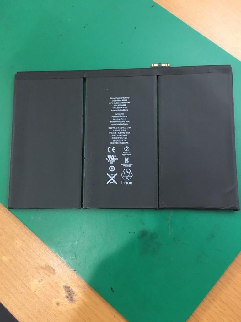 iPad3バッテリー